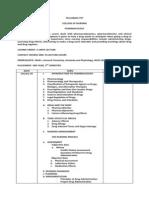 Syllabus Pharmacology