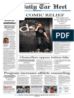 The Daily Tar Heel for January 10, 2014