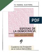 Cuadernos Ife Esferas de La Democracia