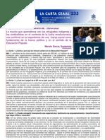 La Carta 335 _CEAAL Manolo Garcia