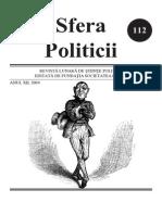 Sfera Politicii 112, 2004