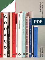 AA Publications Catalogue 12-13
