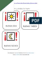 Saludar- Buenos Dias, Tardes,Noches