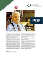 Reconocimiento Revista Poder, Alvaro Isaza