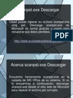 Obtenga herramienta alternativa para descargar scanpst.exe para reparar pst corrupto. - Presentation