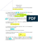 Problem Set 1(3D Debye)