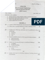 Exam paper BE Comp. (PU) Advanced Database 09
