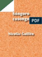 Sóngoro cosongo - Nicolás Guillén