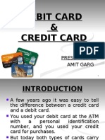 Debit & Credit Card