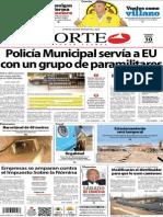 Periódico Norte edición impresa día 10 de enero 2014