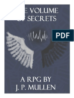 The Volume of Secrets RPG