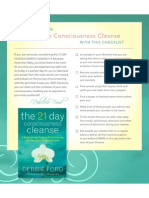 21-Day Consciousness Cleanse Checklist