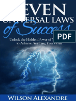 7 Universal laws of success