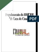 Regulamento BE/CRE - A Casa de Camilo 09/2010