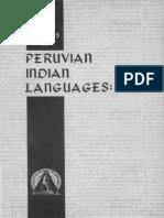 Estudos de línguas peruanas