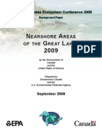 Nearshore Areas of the Great Lakes 2009