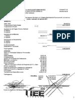 PRD Informe financiero 2007