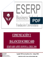 Comunicación y Balanced Score Card