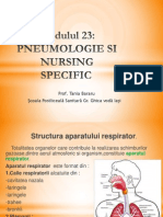1. Pneumologie  Anatomie -curs 1 nursing