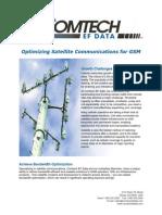 Optimizing Satellite Communications for GSM
