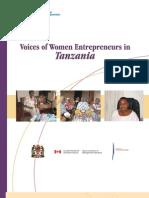 Voices of Women Entrepreneurs in Tanzania