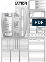Corporation - Corporation Character Sheet