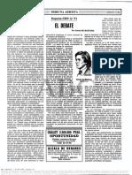 Daniel de Busturia- El Debate