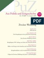 Aus Politik Und Zeitgeschichte - Zweiter Weltkrieg