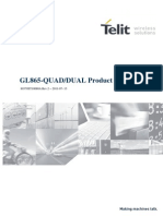 Telit GL865-DUAL QUAD Product Description r2