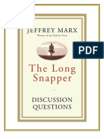 THE LONG SNAPPER by Jeffrey Marx