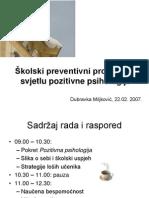 Dubravka Miljković Pozitivna psihologija