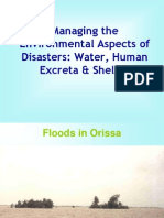 Environmental Aspects of Disaster 19 March 07
