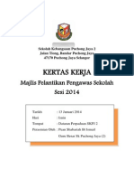 Kertas Kerja Pelantikan Pengawas 2014