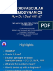Cardiovascular Haemodynamics