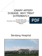 Coronary Artery Disease-Why Treat Differently