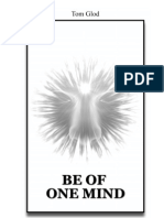 Be of One Mind - First Edition