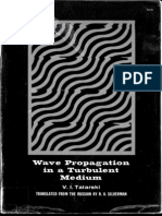 Tatarski - Wave Propagation in a Turbulent Medium (1961)