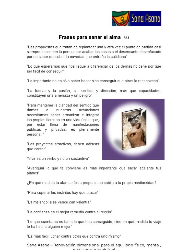 Frases Para Sanar El Alma B33