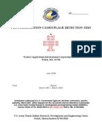 Photosimulation Camouflage Detection Test