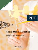 EY-Social Media Marketing India Trends Survey 2013