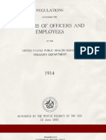(1914 & 1937) U.S. Public Health Service Uniform Regulations