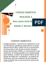 CÒDIGO GENETICO expo