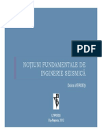 Notiuni Fundamentale de Inginerie Seismica Doina Verdes