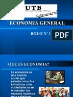 Bolo Economía General