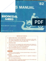 Honda MB5 Owners Manual[1]