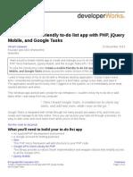 Mo Php Todolist App PDF