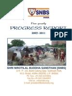 Progress Report 2006 - 2011
