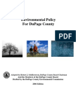 DuPage County – Environmental Policy