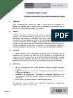 Directiva Participacion de Proveedores en Consorcio