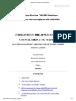 -73_23_eec Low Voltage Directive Guidelines